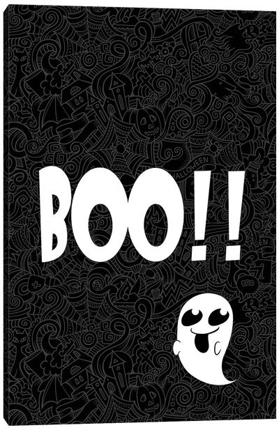 BOO!!! Canvas Art Print