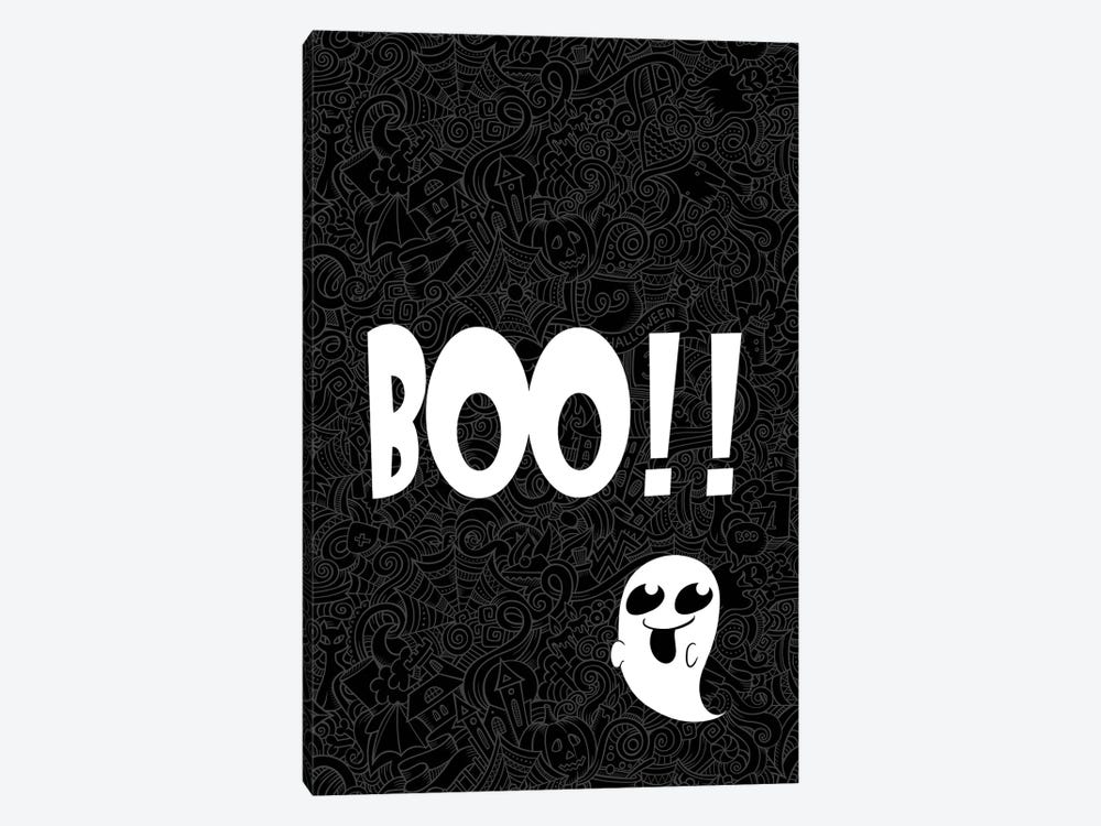 BOO!!! by 5by5collective 1-piece Art Print