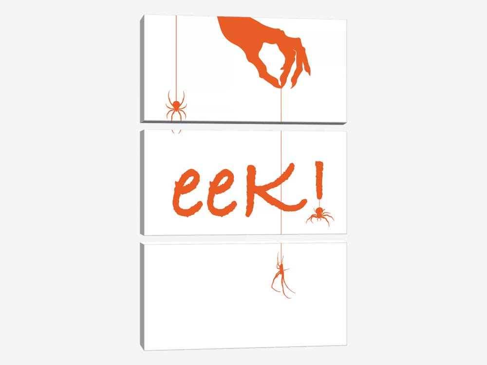 Eek! by 5by5collective 3-piece Canvas Wall Art