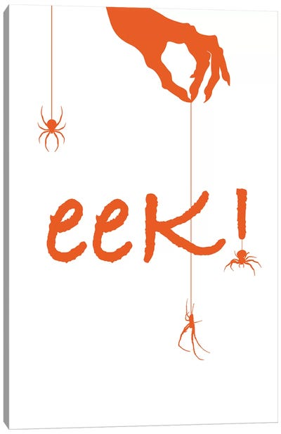 Eek! Canvas Art Print