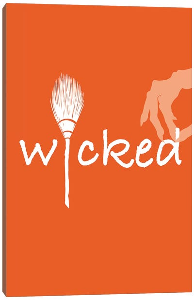 Wicked Canvas Print #HHO7