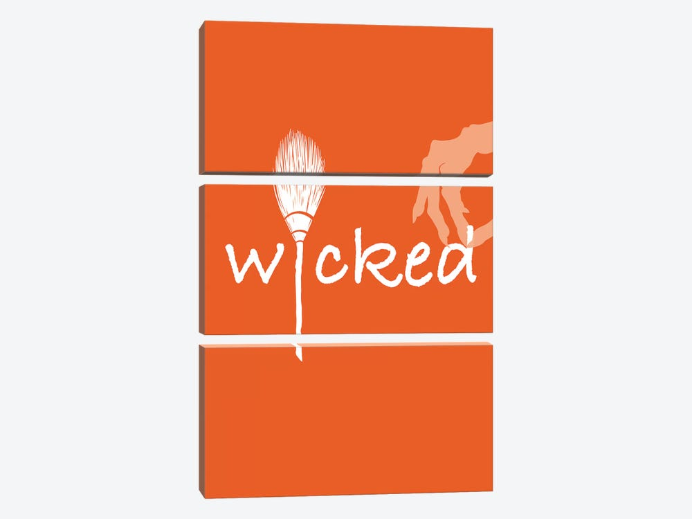 Wicked by 5by5collective 3-piece Canvas Art Print