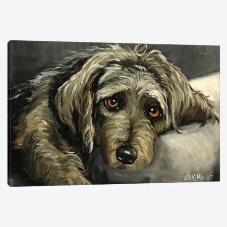 Cairn Terrier Canvas Print #HHS106} by Hippie Hound Studios Canvas Art