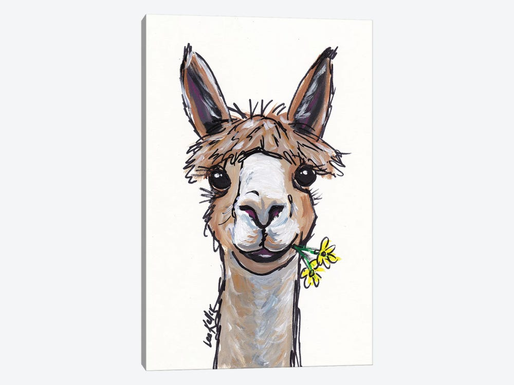 Lycoming The Alpaca by Hippie Hound Studios 1-piece Art Print