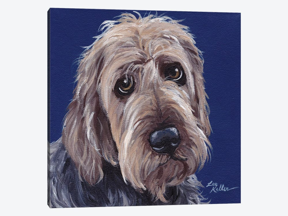 Otterhound II by Hippie Hound Studios 1-piece Canvas Wall Art