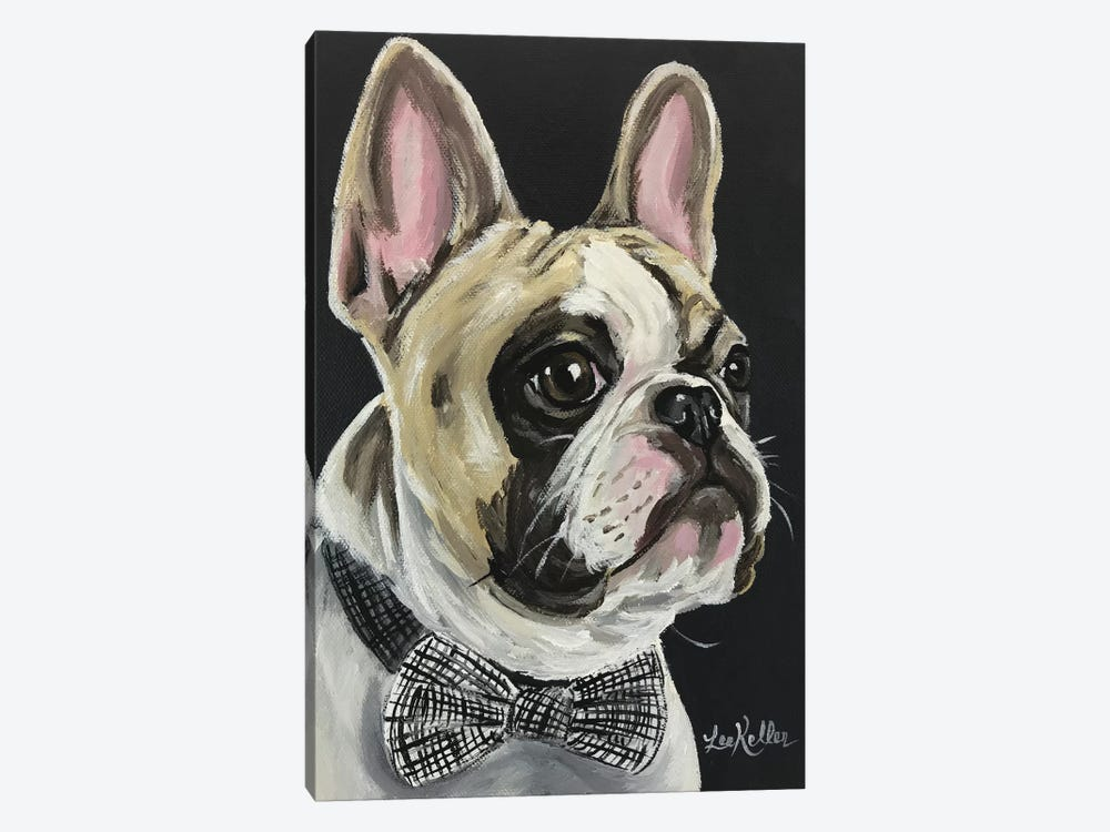 Spock The French Bulldog by Hippie Hound Studios 1-piece Canvas Art Print