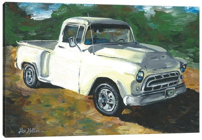 55 Chevy Truck Canvas Art Print