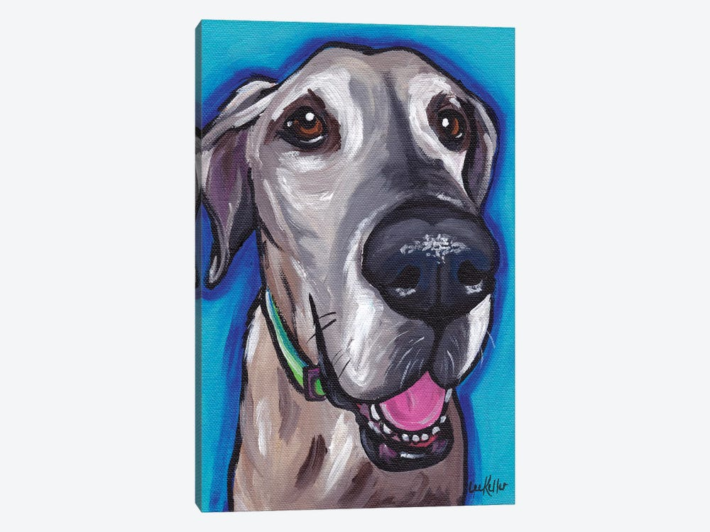 Beau The Great Dane by Hippie Hound Studios 1-piece Canvas Artwork