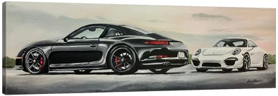 Porsche's Best Canvas Art Print