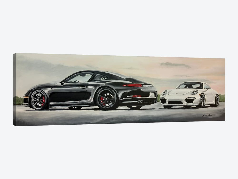 Porsche's Best by Hippie Hound Studios 1-piece Art Print