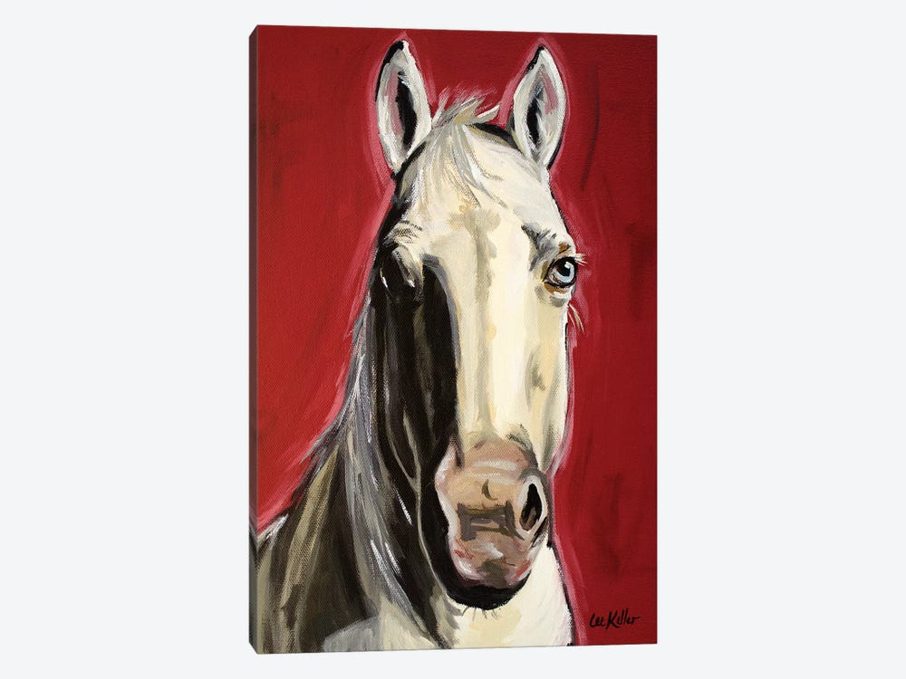 Horse Piper by Hippie Hound Studios 1-piece Canvas Wall Art
