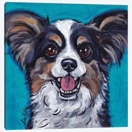 Maz Papillion Canvas Print #HHS160} by Hippie Hound Studios Canvas Art Print