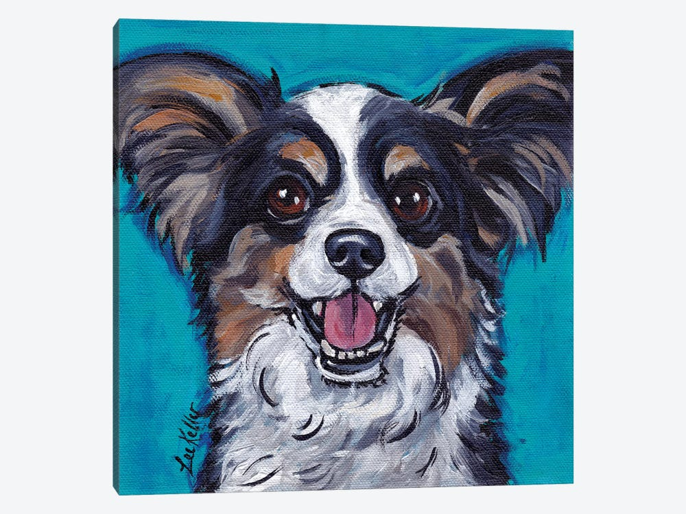 Maz Papillion by Hippie Hound Studios 1-piece Canvas Artwork