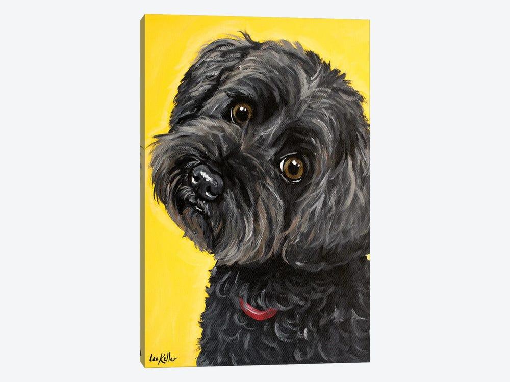 Millie Yorkie Poo by Hippie Hound Studios 1-piece Canvas Print