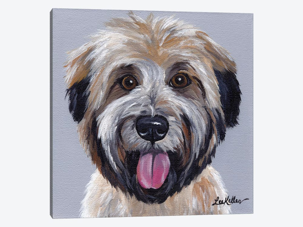 Wheaten Terrier III by Hippie Hound Studios 1-piece Canvas Art Print