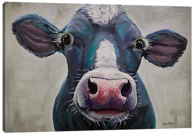 Cow - Clara Belle Canvas Art Print