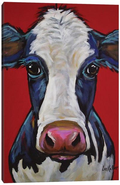 Cow - Georgia Canvas Art Print