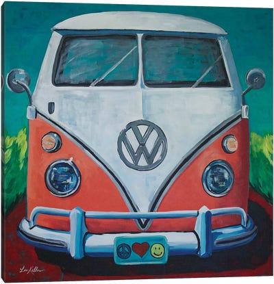 Volkswagen Van Bohemian Dream Canvas Art Print