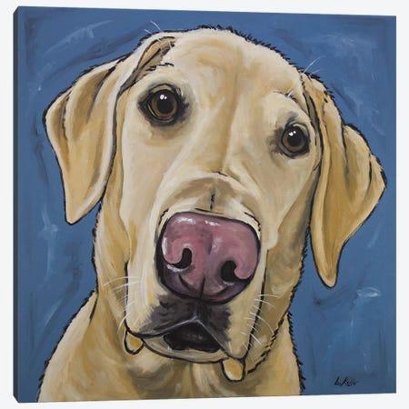 Yellow Lab - Maggie Canvas Print #HHS232} by Hippie Hound Studios Canvas Art Print