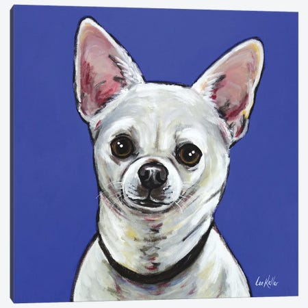 Chihuahua - Pepe Canvas Print #HHS244} by Hippie Hound Studios Canvas Print