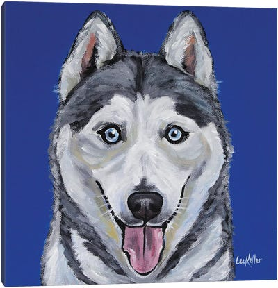 Husky - Leia Canvas Art Print
