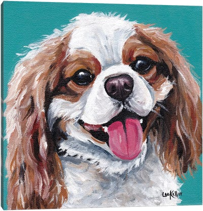 King Charles Spaniel - King Canvas Art Print