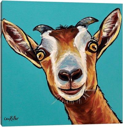 Goat Painting Dub Canvas Art Print