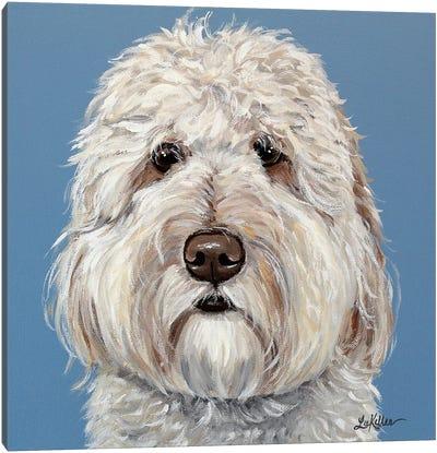 Emmitt The Goldendoodle Canvas Art Print
