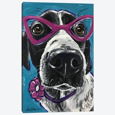 Expressive Hound Canvas Print #HHS30} by Hippie Hound Studios Art Print