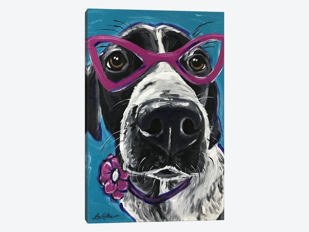 Expressive Hound by Hippie Hound Studios 1-piece Canvas Print