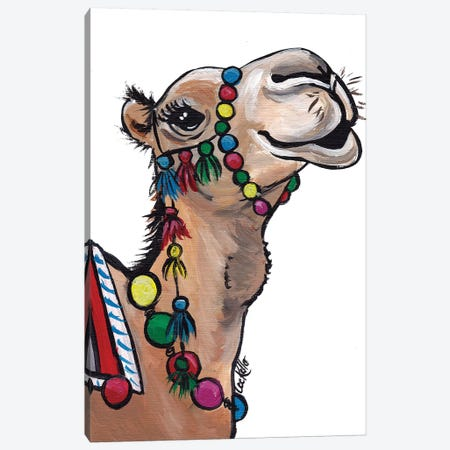 Camel Tassels I Canvas Print #HHS359} by Hippie Hound Studios Canvas Wall Art