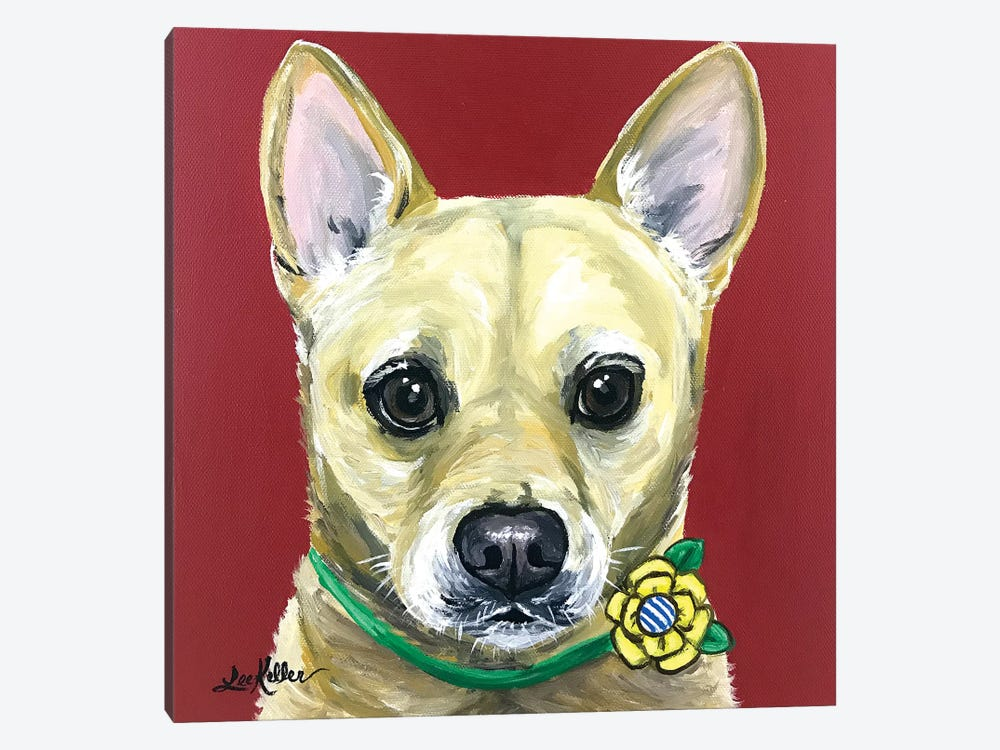 Carolina Dog by Hippie Hound Studios 1-piece Canvas Art
