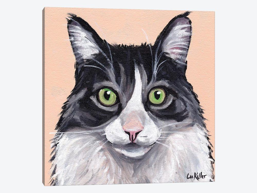 Cat Leo by Hippie Hound Studios 1-piece Canvas Art Print