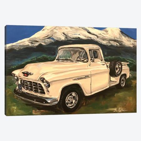 Chevy Truck 3200 I Canvas Print #HHS368} by Hippie Hound Studios Canvas Art Print