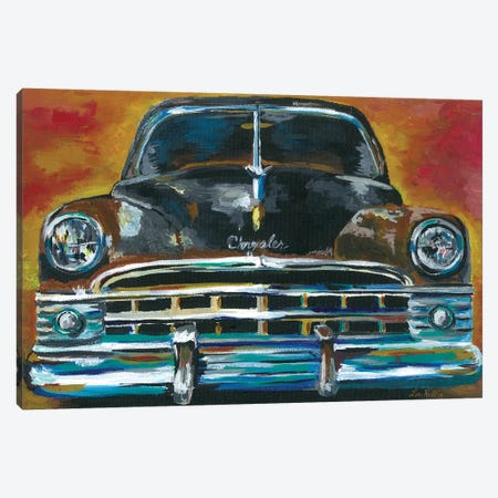 Chrysler New Yorker Canvas Print #HHS378} by Hippie Hound Studios Canvas Artwork
