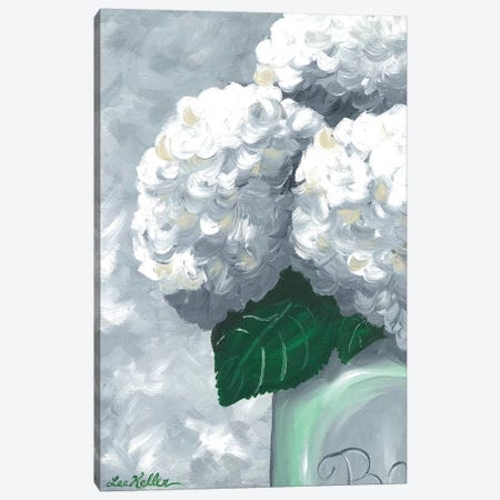 Grannie's Garden II Canvas Print #HHS423} by Hippie Hound Studios Canvas Art