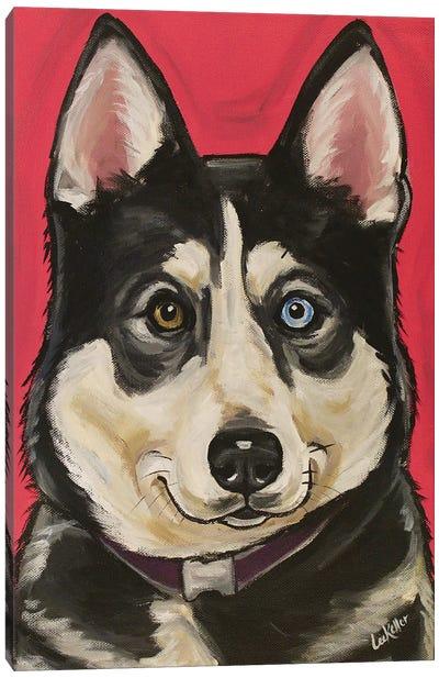 Husky Kara Canvas Art Print