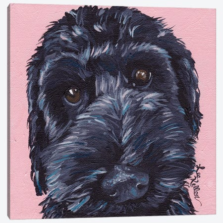 Labradoodle Dog II 3-Piece Canvas #HHS432} by Hippie Hound Studios Canvas Art Print
