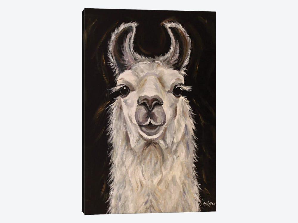 Llama Blanca by Hippie Hound Studios 1-piece Art Print