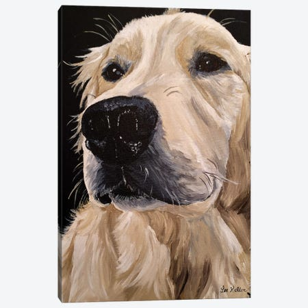 Golden Retriever Diane Canvas Print #HHS435} by Hippie Hound Studios Canvas Wall Art