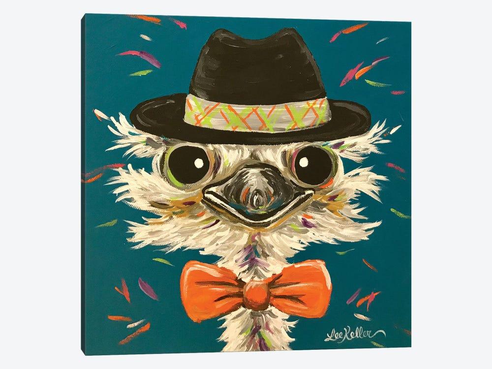 Ostrich Miles by Hippie Hound Studios 1-piece Canvas Art