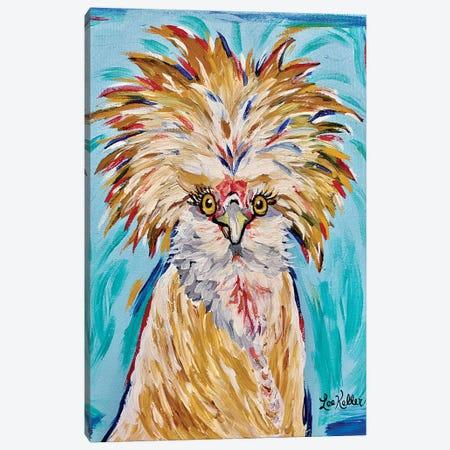 Polish Chicken Lola Canvas Print #HHS453} by Hippie Hound Studios Canvas Print