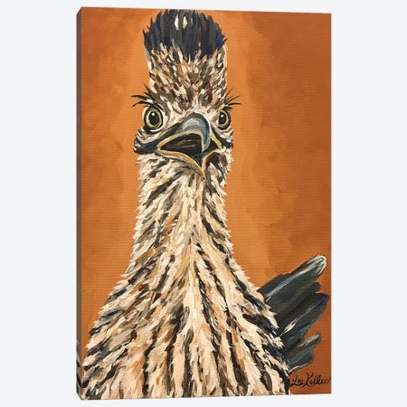Roadrunner Painting Canvas Print #HHS467} by Hippie Hound Studios Canvas Print