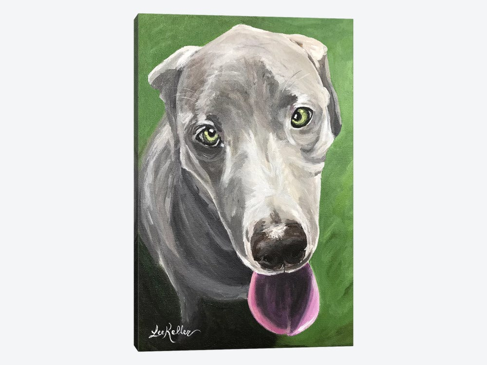 Great Dane  by Hippie Hound Studios 1-piece Art Print