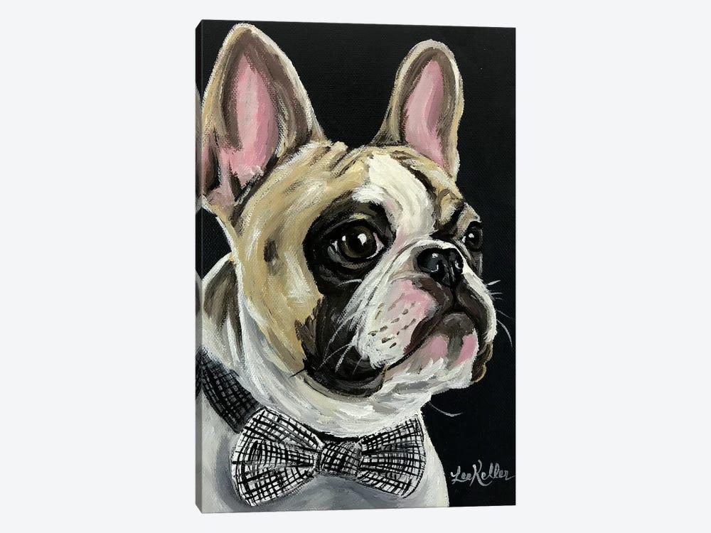 Spock French Bulldog by Hippie Hound Studios 1-piece Canvas Artwork