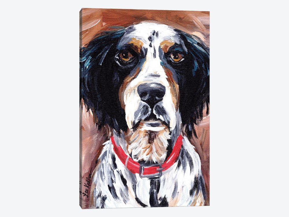 Springer Spaniel by Hippie Hound Studios 1-piece Canvas Art Print