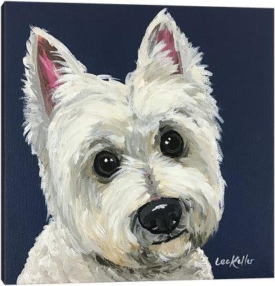 West Highland White Terrier I Canvas Art Print