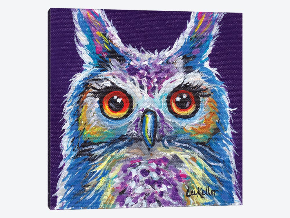 Sasha The Owl by Hippie Hound Studios 1-piece Canvas Art Print