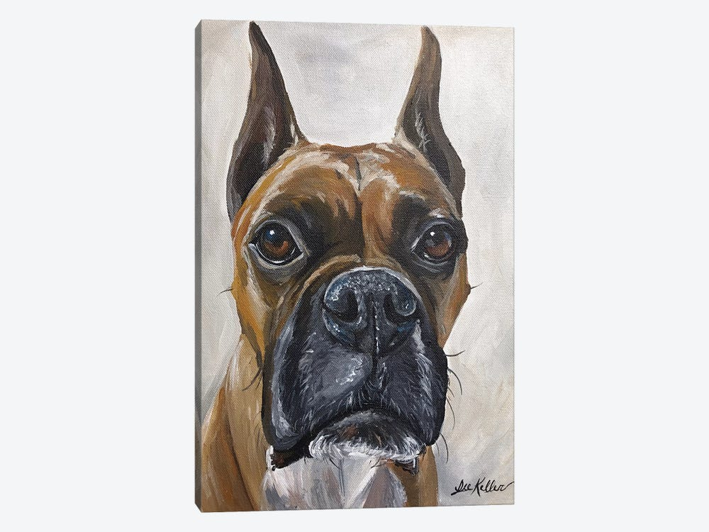 Boxer, So Serious  by Hippie Hound Studios 1-piece Canvas Wall Art