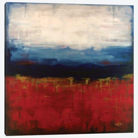 Abstract Blue Ridge I Canvas Print #HHS97} by Hippie Hound Studios Canvas Art